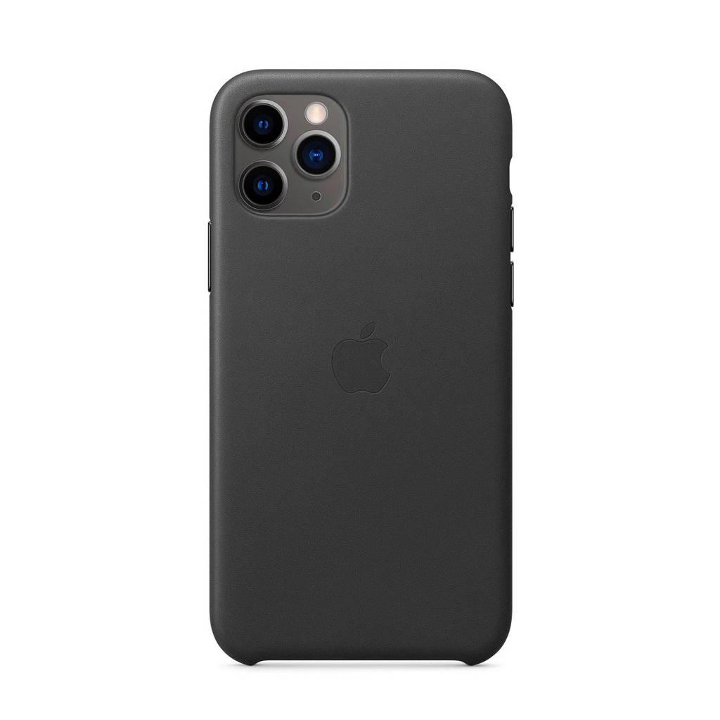 Apple iPhone 11 Pro leren backcover, Zwart