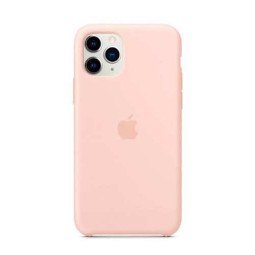 APPLE iPhone 11 Pro Max Siliconen Case Roze