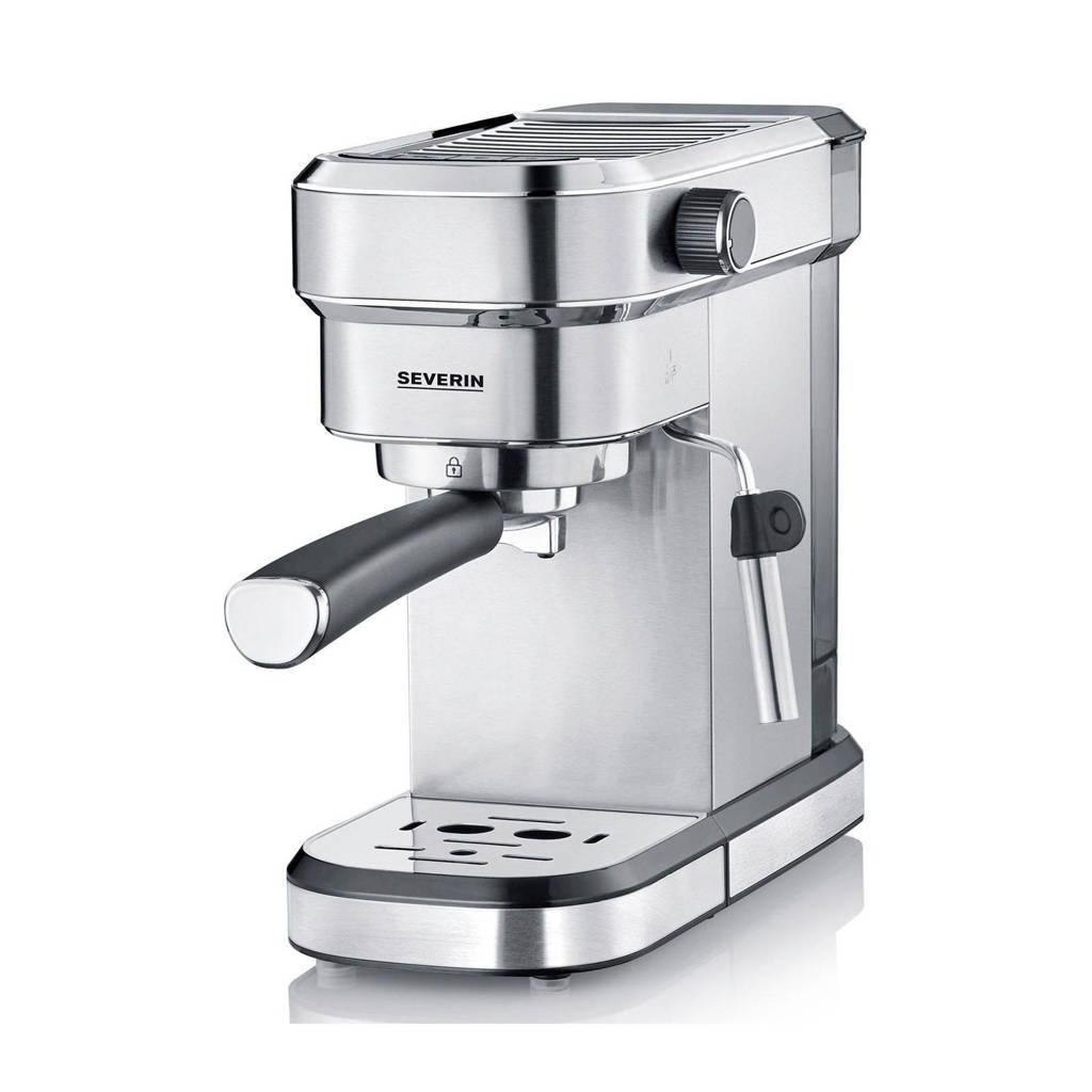 Severin KA 5994 Espresso apparaat, Zilver