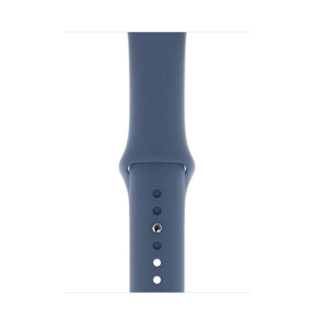 Apple Watch siliconen sport horlogeband 44mm, Blauw