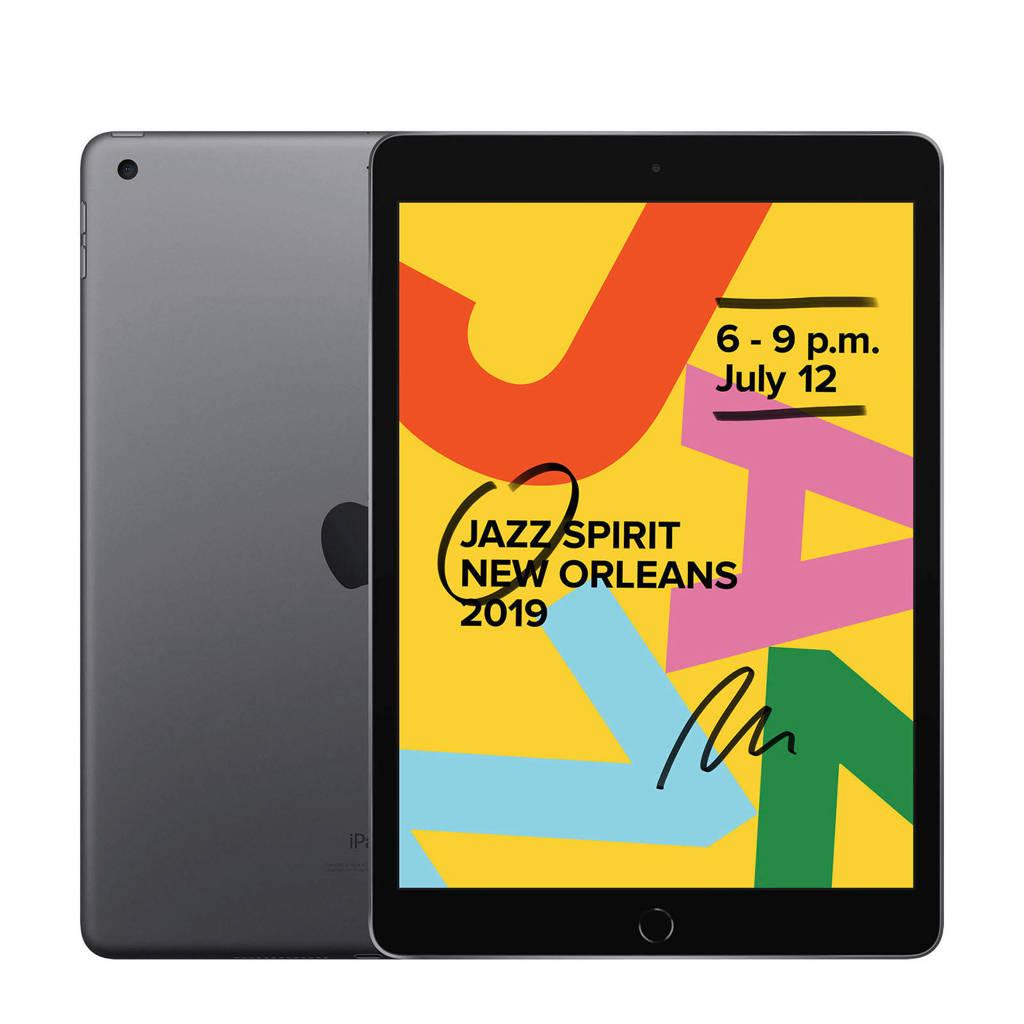 Apple  iPad 2019 128GB Wifi Space Grey, Grijs