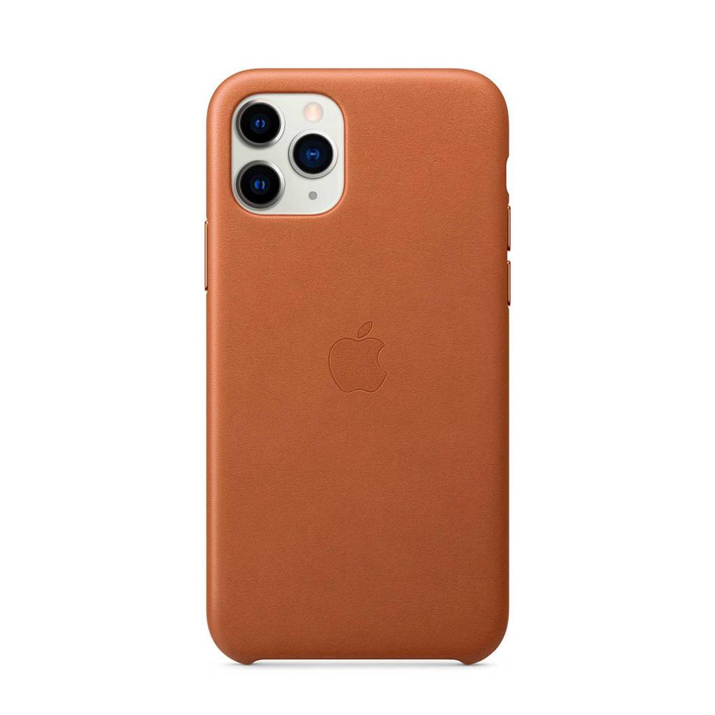 Apple iPhone 11 Pro leren backcover, Bruin