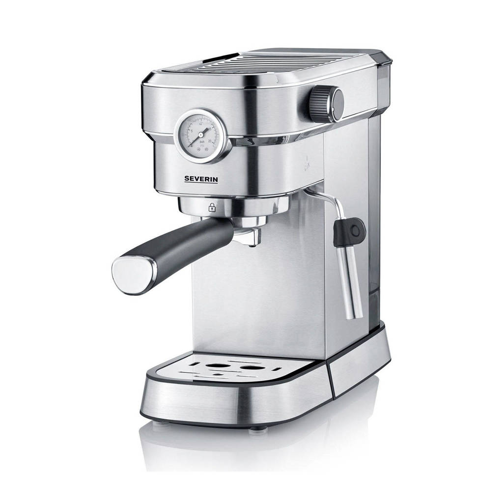 "Severin KA 5995 ""Espresa Plus"" Espresso-apparaat, Zilver"