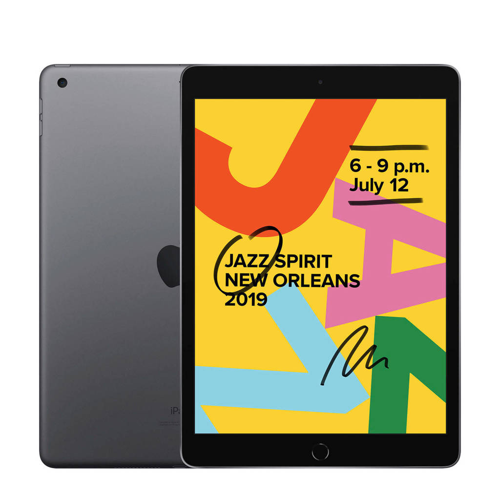 Apple  iPad 2019 32GB Wifi Space Grey, Grijs