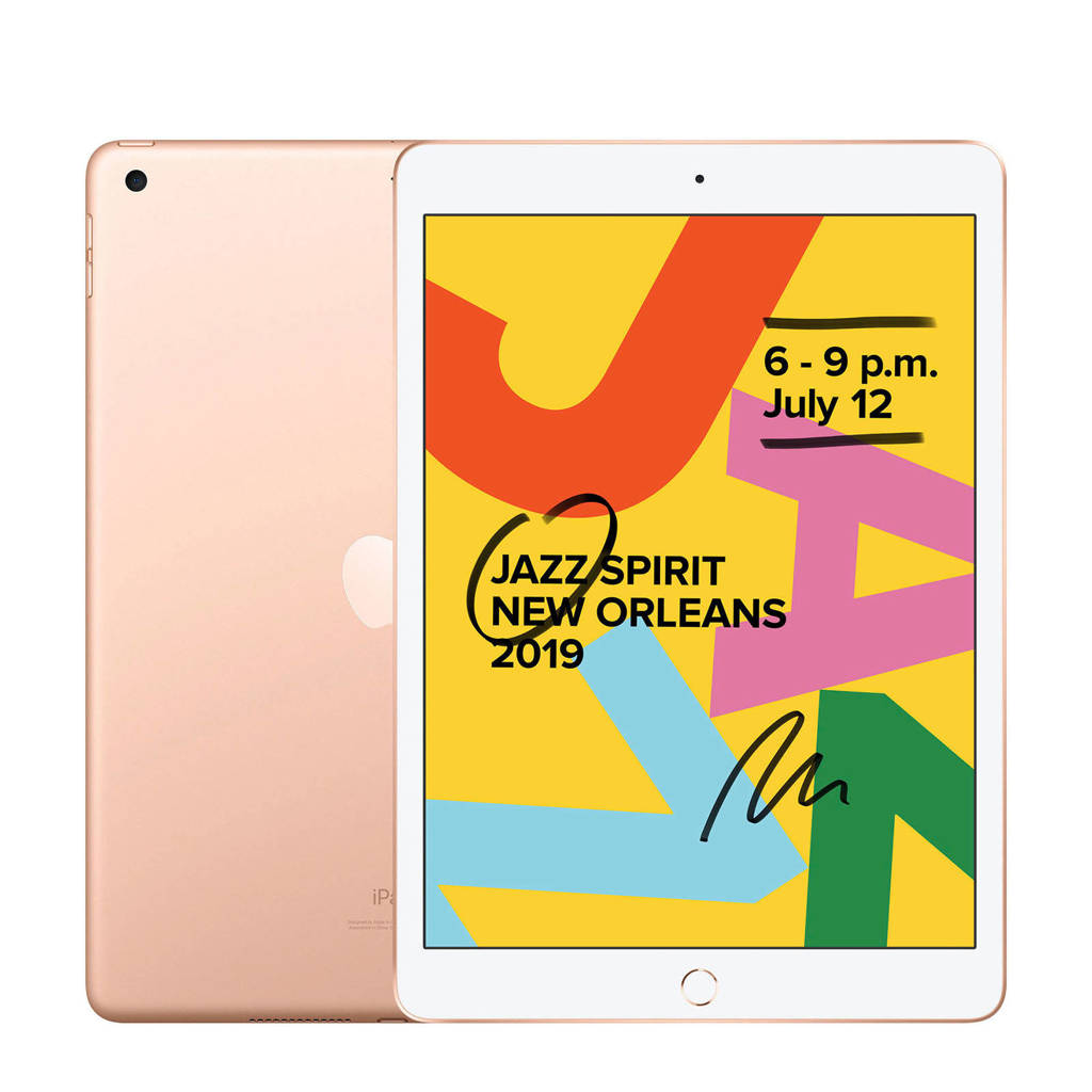 Apple  iPad 2019 128GB Wifi Goud