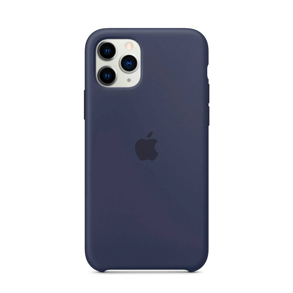 Apple iPhone 11 Pro siliconen backcover, Blauw