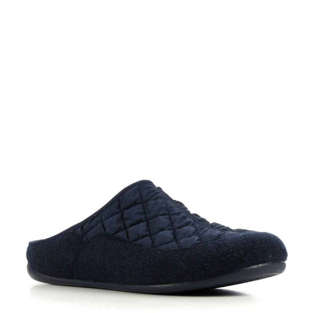 CM Comfort pantoffels blauw, Donkerblauw
