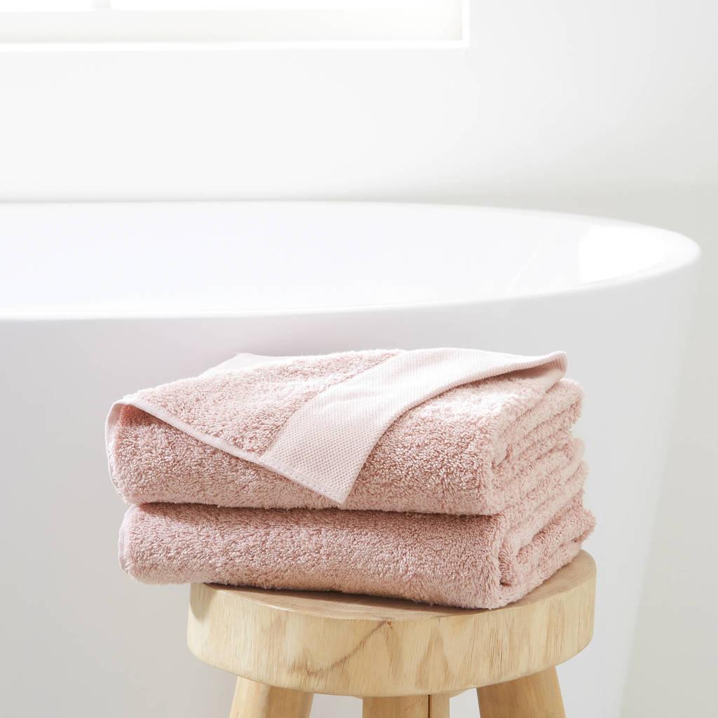 whkmp's own handdoek hotelkwaliteit (set van 2), Lichtroze