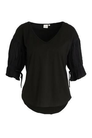 T-shirt Iben zwart