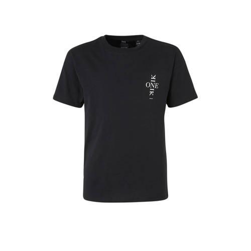 NIK&NIK T-shirt Lexy One met printopdruk zwart