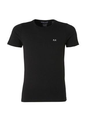 T-shirt Pele met logo zwart/wit