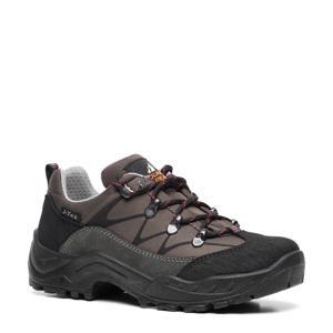 leren wandelschoenen grijs
