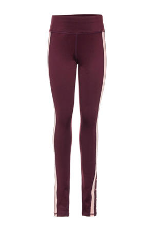 sportbroek bordeaux/roze