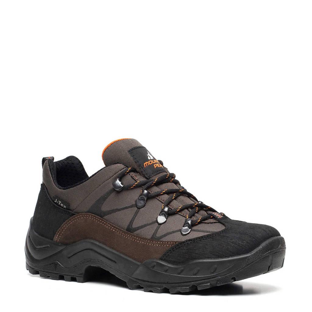 Scapino Mountain Peak   leren wandelschoenen bruin, Bruin/zwart