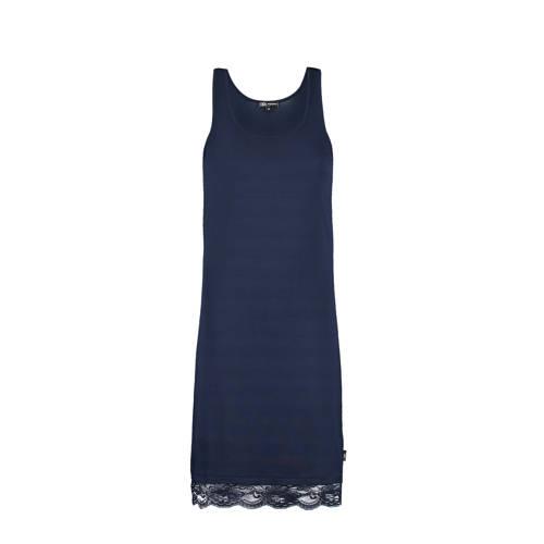Didi jurk met kant donkerblauw