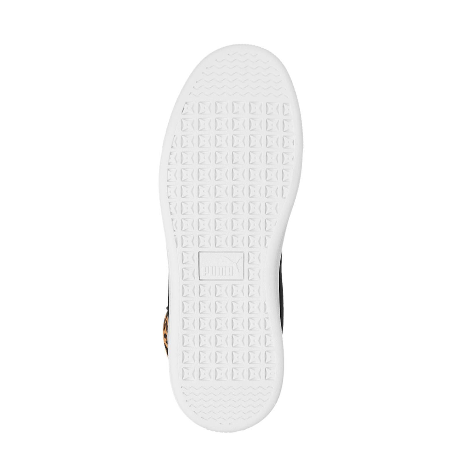 Puma Vikky Mid hoge sneakers zwartpanterprint   wehkamp