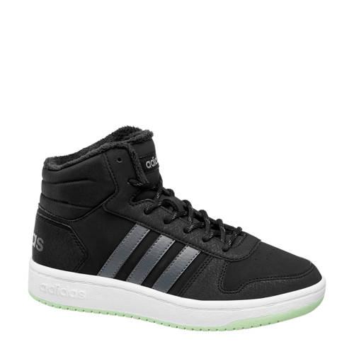 adidas Hoops mid 2.0 sneakers zwart kinderen Kinderen