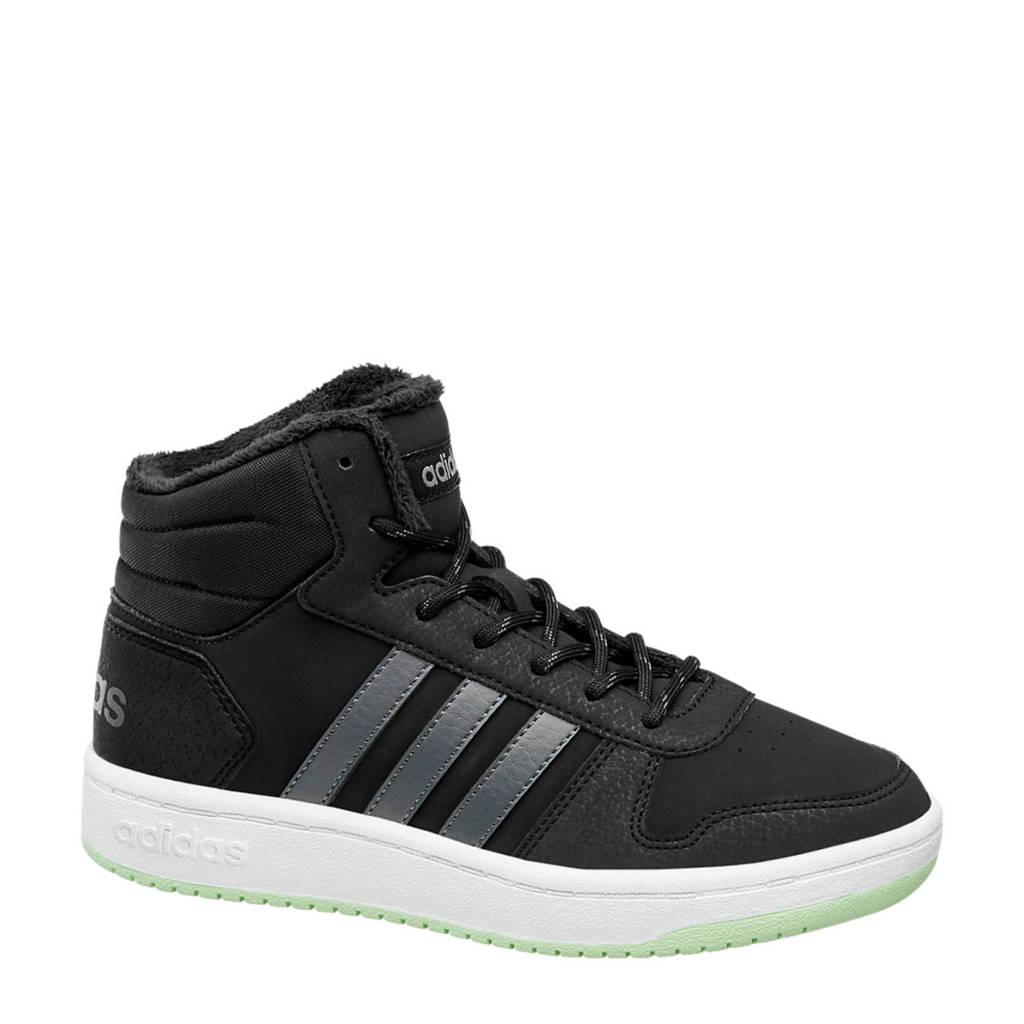 adidas   Hoops Mid 2.0 sneakers zwart, Zwart