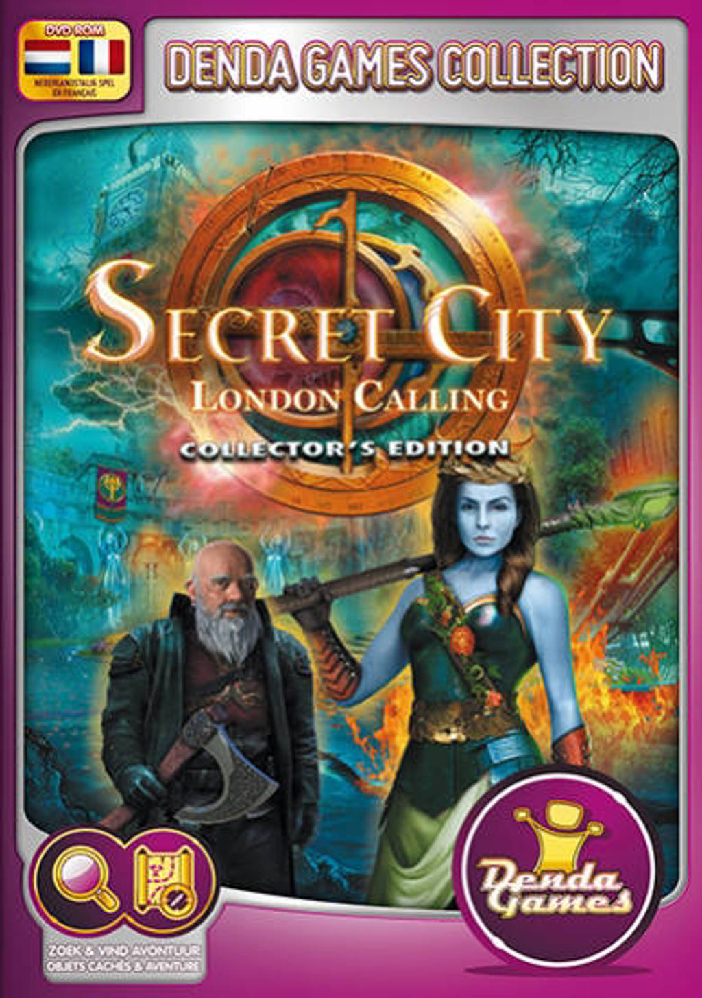 Secret city - London calling (Collectors edition) (PC)