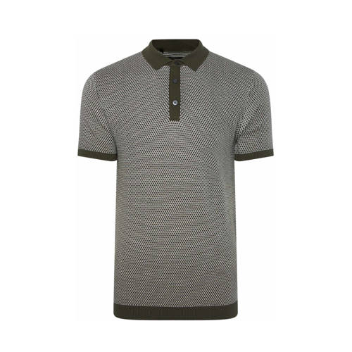 WE Fashion slim fit polo forest night