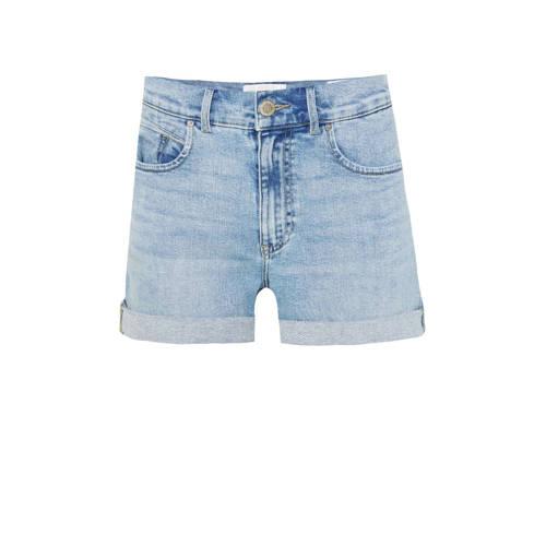 WE Fashion Blue Ridge high waist jeans short light
