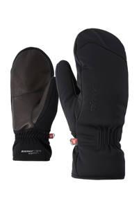 Ziener skihandschoen Karinia zwart, Zwart