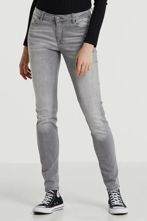 slim fit jeans lichtgrijs