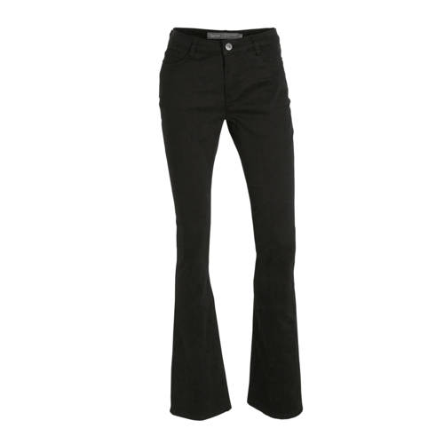 Geisha flared jeans zwart