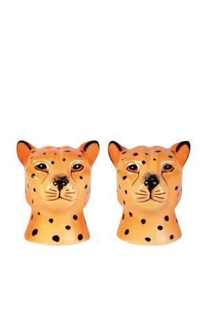 Leopard peper- en zoutstel