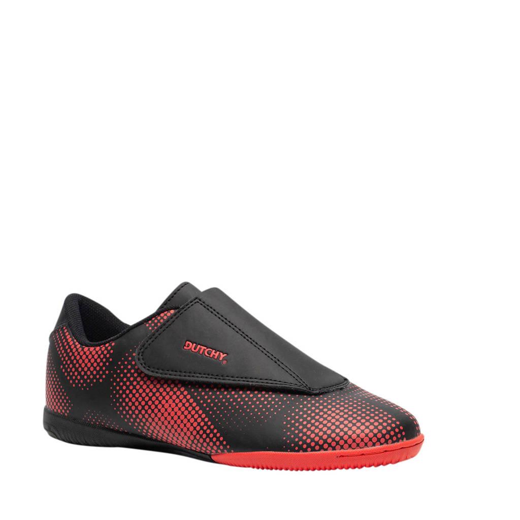 Scapino Dutchy   zaal voetbalschoenen zwart/oranje, Zwart/oranje