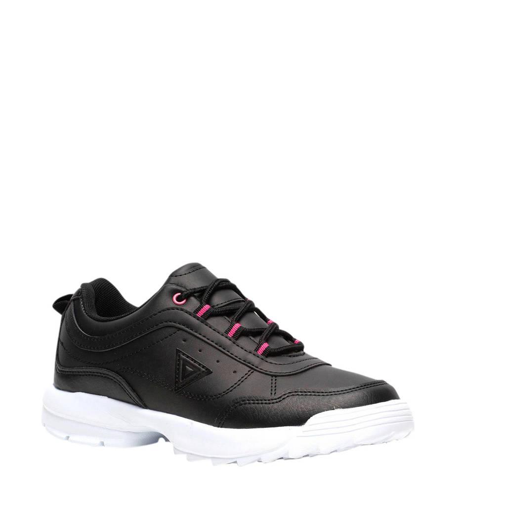 Scapino Osaga   sneakers zwart/roze, Zwart/roze