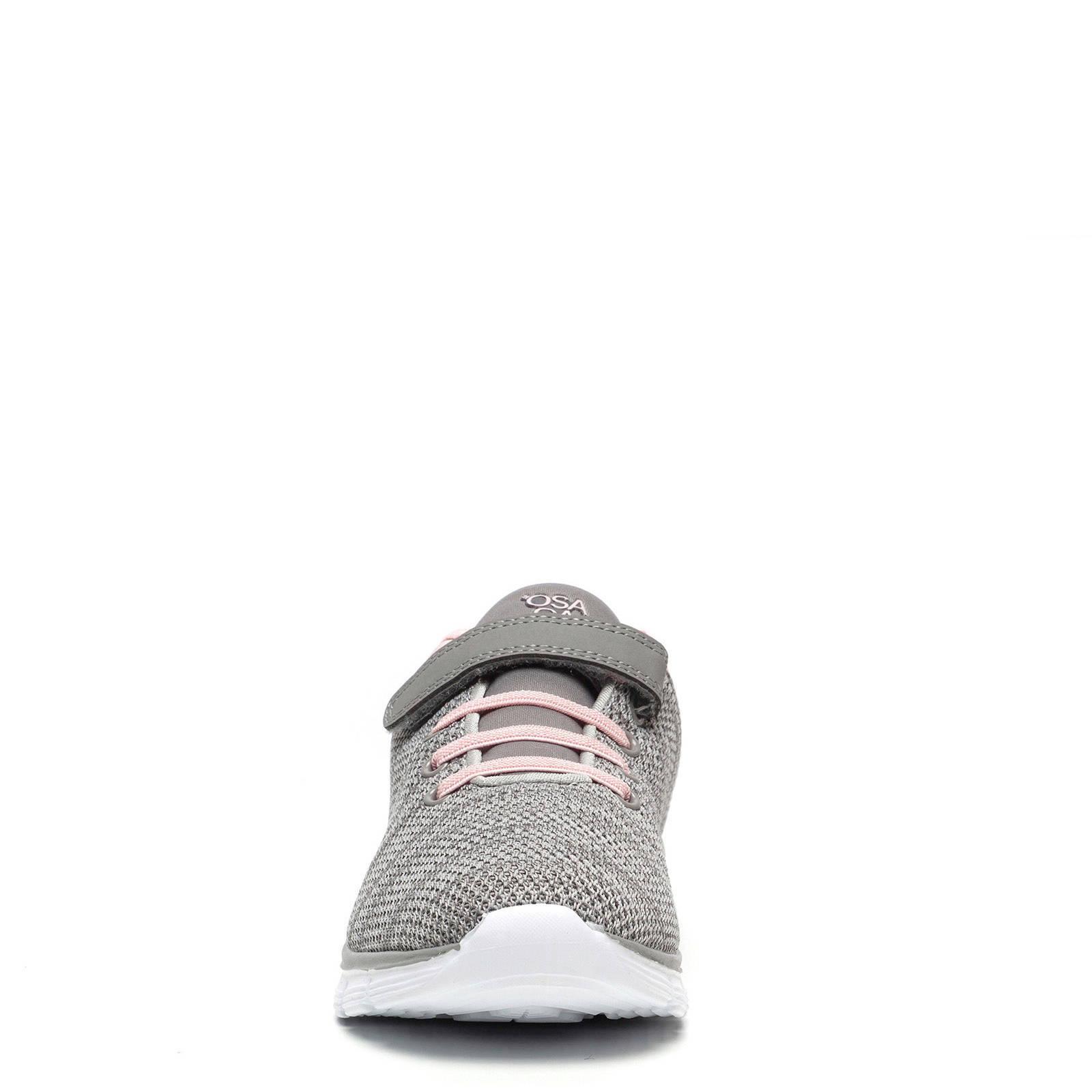 fitness schoenen grijs melange