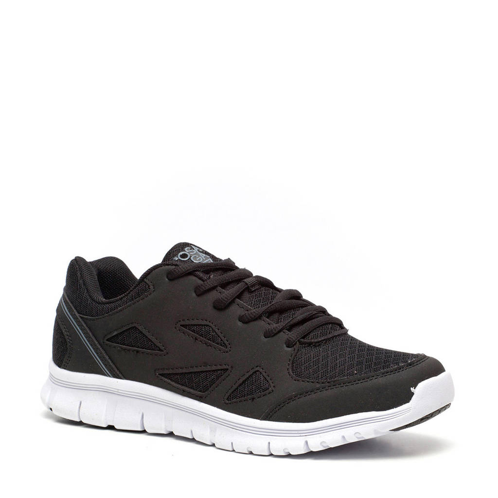 Scapino Osaga   fitness schoenen zwart/grijs, Zwart/grijs