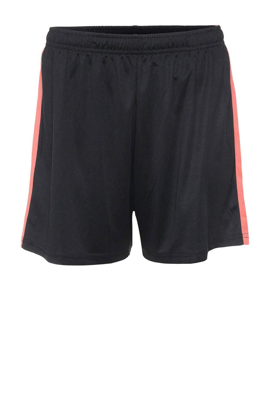 Scapino Dutchy voetbalshort zwart/roze, Zwart/roze