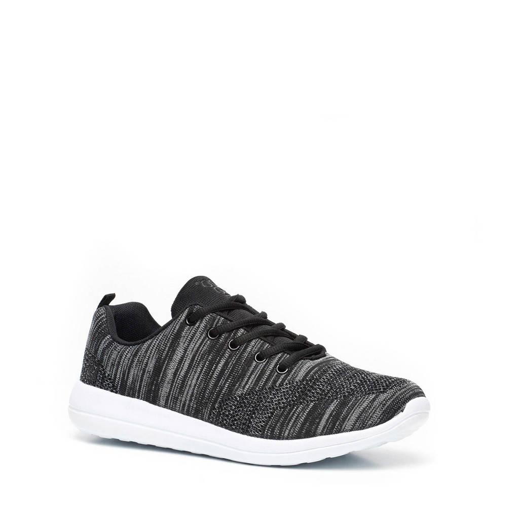 Scapino Osaga   sneakers grijs/zwart, Zwart/grijs