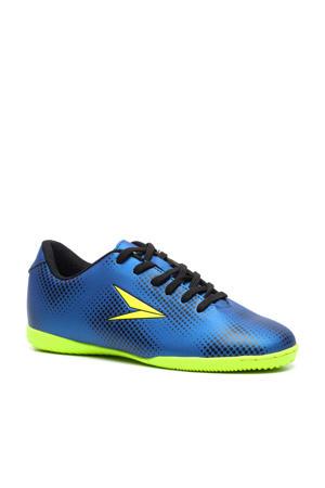 Dutchy   IC zaalvoetbalschoenen blauw/geel