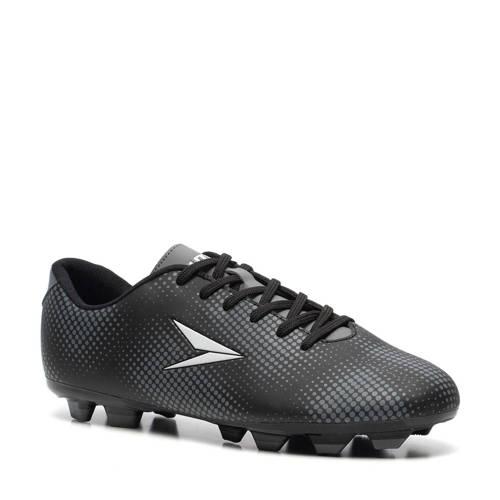 Scapino Dutchy Dott voetbalschoenen zwart/grijs