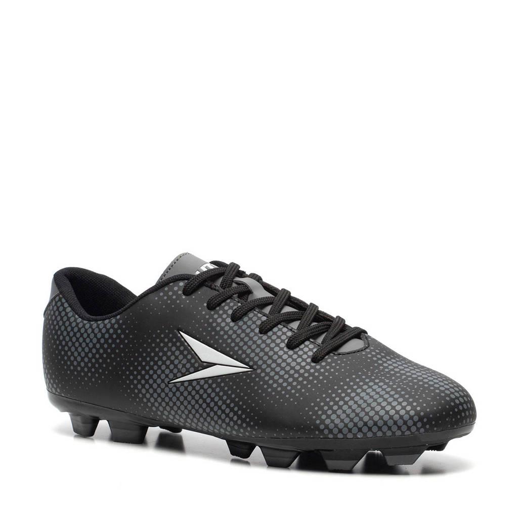 Scapino Dutchy Dott  voetbalschoenen zwart/grijs, Zwart/grijs