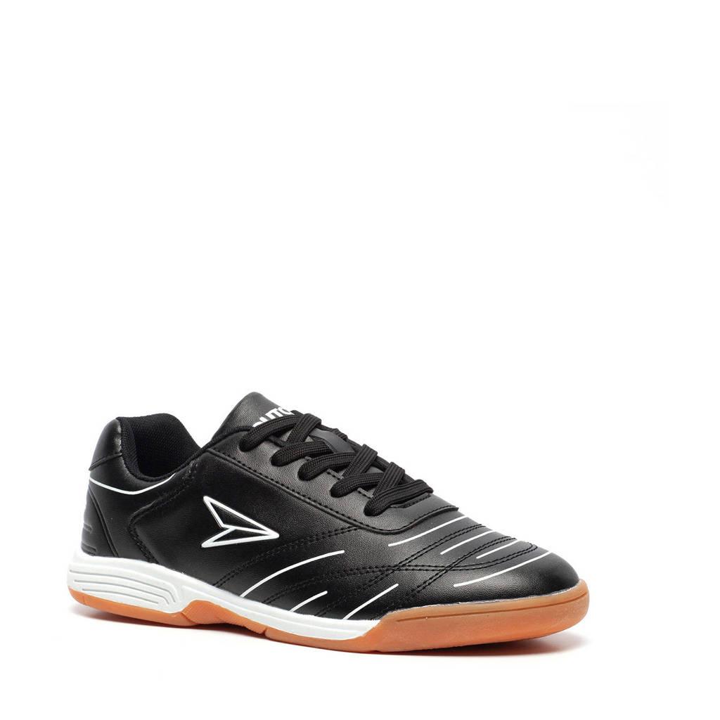 Scapino Dutchy   IC zaalvoetbalschoenen zwart/wit, Zwart/wit