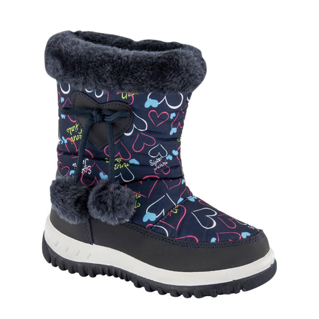 Cortina   snowboots blauw/multi, Blauw/multi