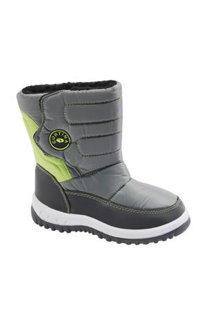 snowboots grijs/groen