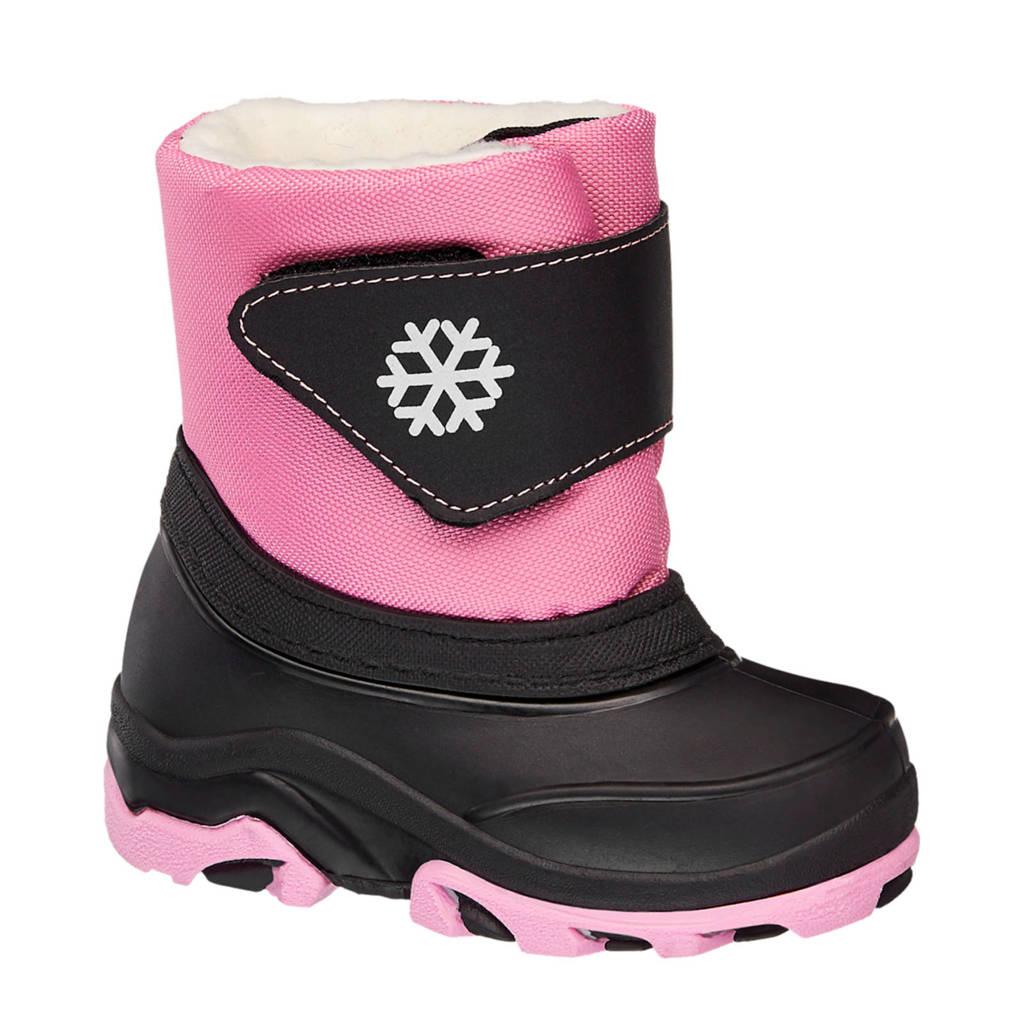 Cortina   snowboots roze/zwart, Roze/zwart