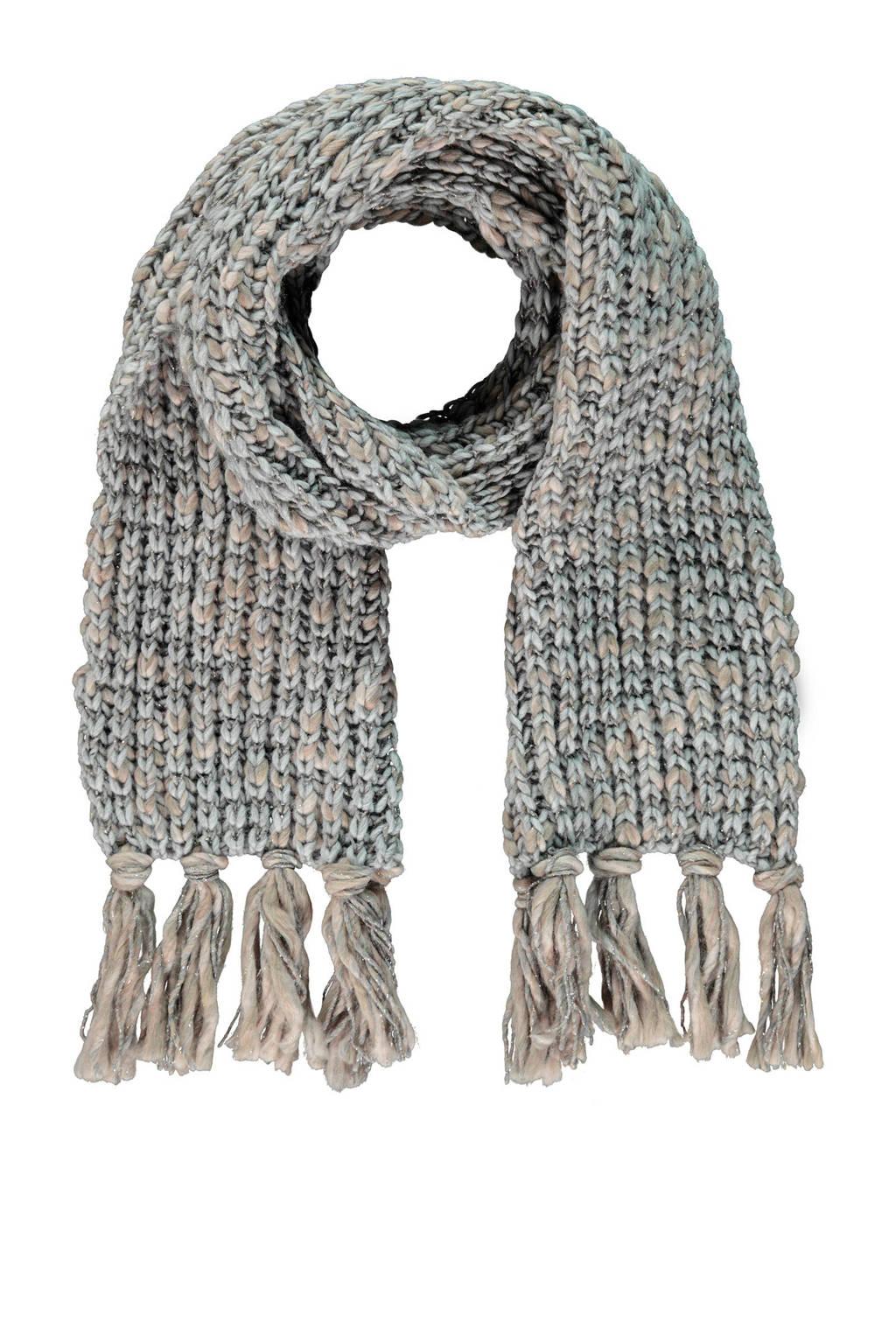 Claudia Sträter sjaal grijs, medium grey