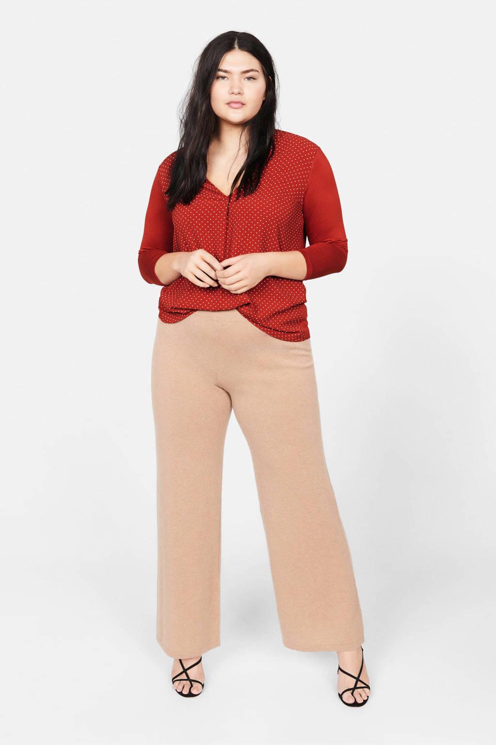 Violeta by Mango blouse rood, Rood