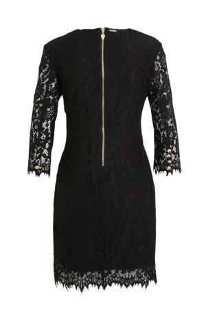 jurk May met kant zwart