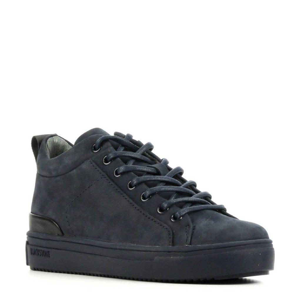 Blackstone SK54  suède sneakers donkerblauw, Donkerblauw