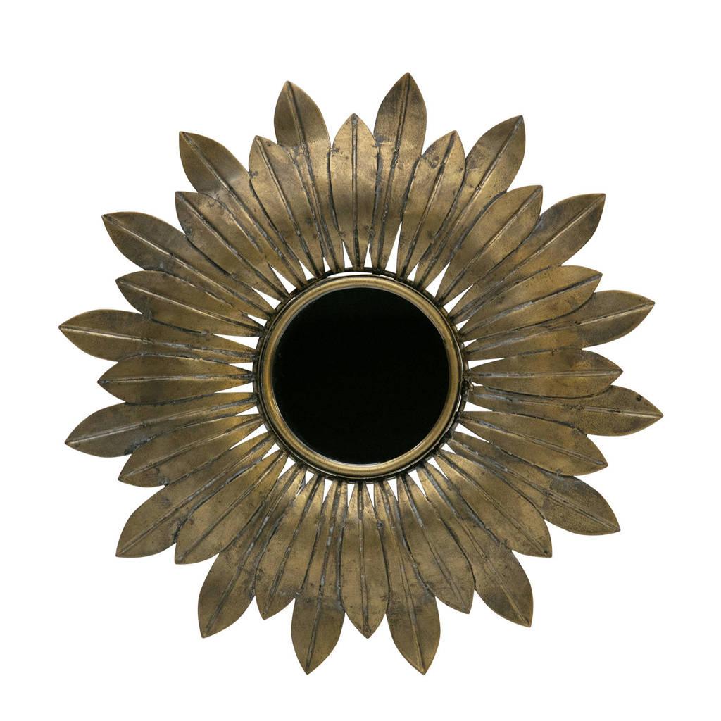 BePureHome spiegel Confess, Antique Brass