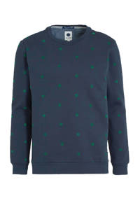 J.C. Rags gemêleerde sweater marine, Marine