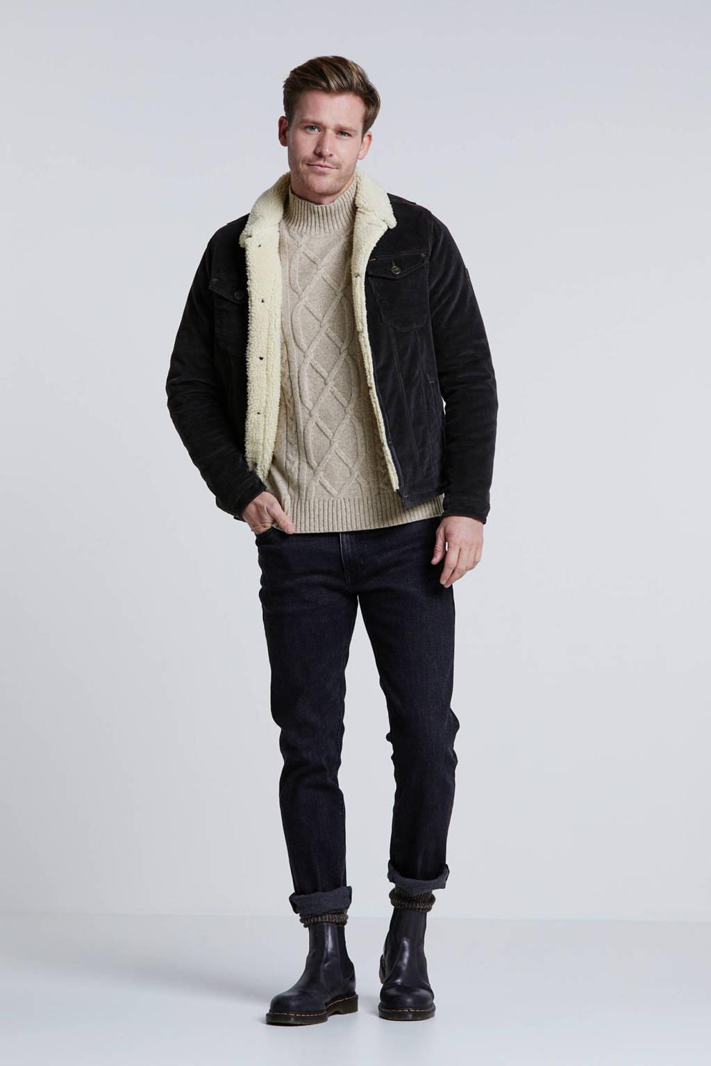 PME Legend winterjas zwart, Zwart