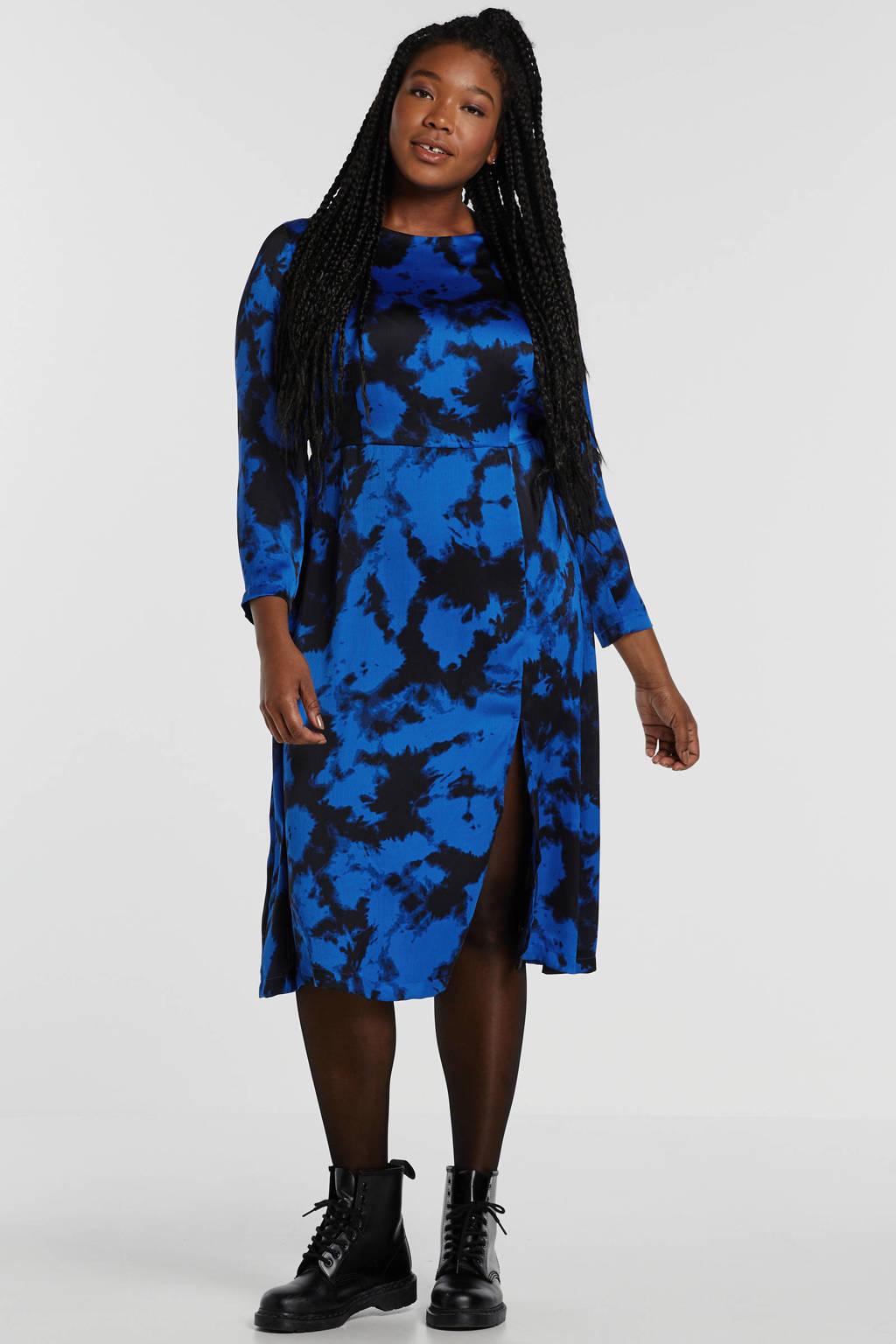 Simply Be jurk met all over print blauw, Blauw